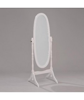 Royal Cheval Mirror - White