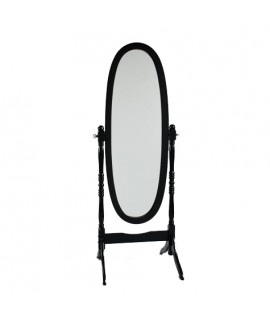 Antique Black Cheval Mirror