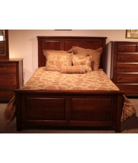 Amish Cherry Queen Size Bed