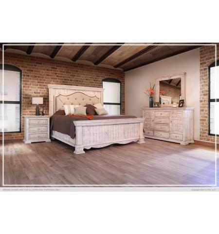 Ardencroft White King Size Bedroom Set