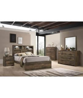 Branson Queen Bookcase Bedroom Set