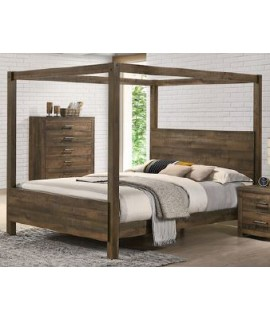 Branson Queen Canopy Bed