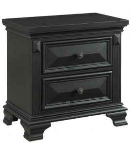 Bridgestone Black Nightstand