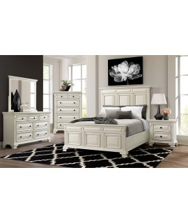 Bridgestone White Queen Bedroom Set