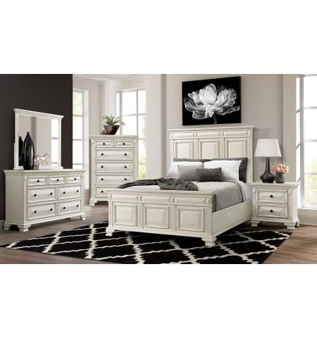 Bridgestone White Queen Bedroom Set