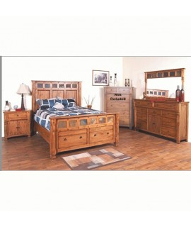 Castle Rock Queen Size Bedroom Set