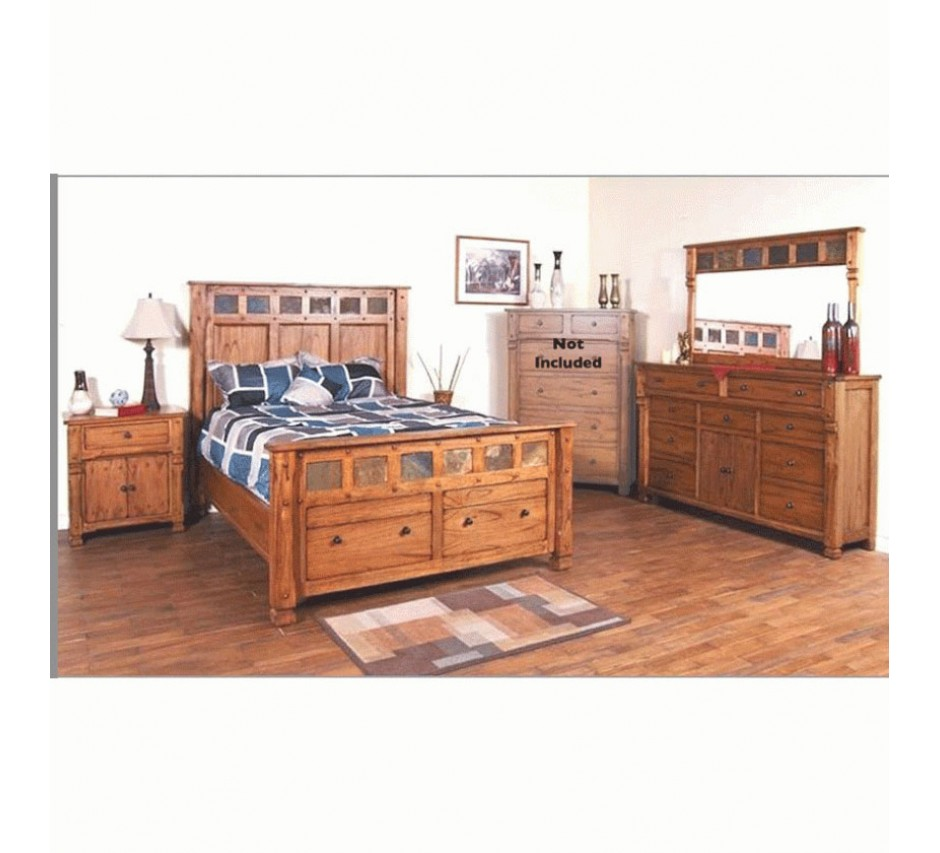 Castle rock queen size bedroom set - Queen size bedroom furniture sets ...