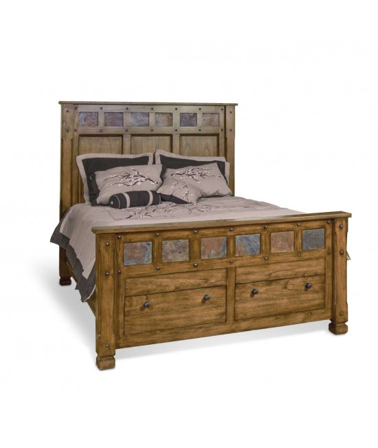 Castle Rock Queen Size Bed