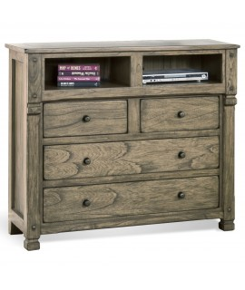 Castle Rock Grey Media Chest