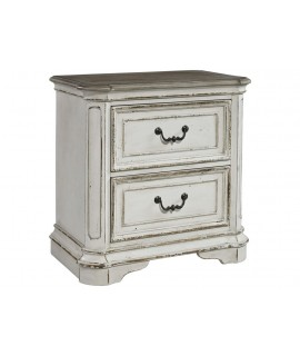 Cloverfield 2 Drawer Nightstand
