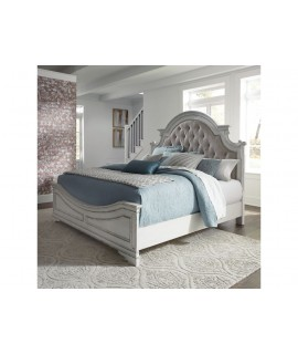 Cloverfield King Upholstered Bed