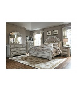 Cloverfield 4pc. Upholstered King Bedroom Set