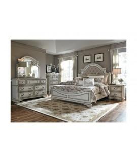 Cloverfield 4pc. Upholstered Queen Bedroom Set