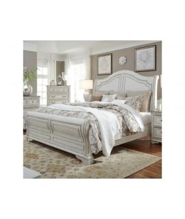 Cloverfield Queen Sleigh Bed