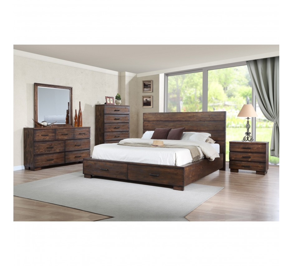 George Queen Size Bedroom Set