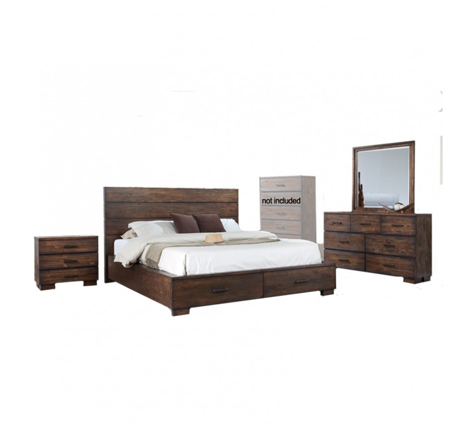 George king size bedroom set for Bedroom furniture sets george