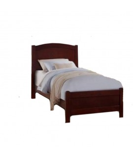 Lafayette Cherry Twin Size Sleigh Bed
