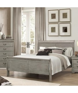 Lafayette Gray Queen Size Bed