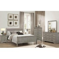 Lafayette Gray Queen Size Bedroom Set