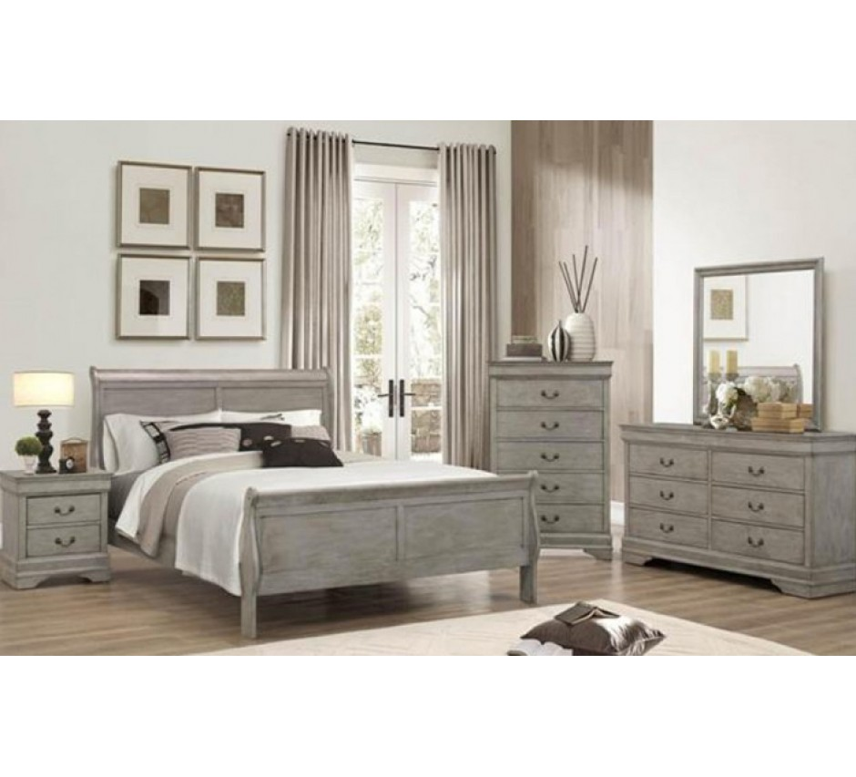 Perfect Lafayette Gray Queen Size Bedroom Set