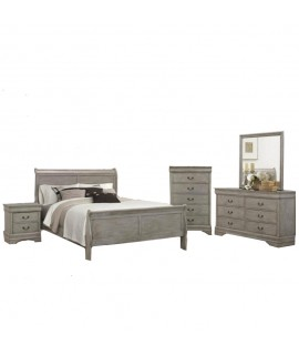Lafayette Gray Twin Size Bedroom Set