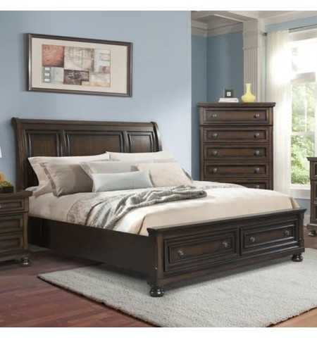 Linden King Size Sleigh Bed