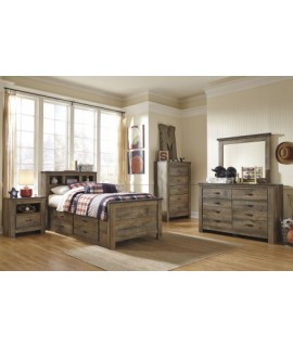 Maroa Full Size Storage Bedroom Set