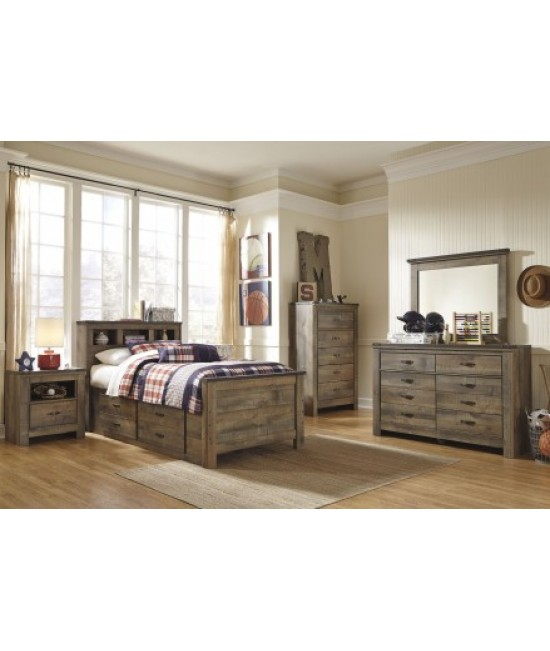 Maroa Full Size Storage Bedroom Set