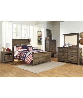 Maroa Queen Size Panel Bedroom Set