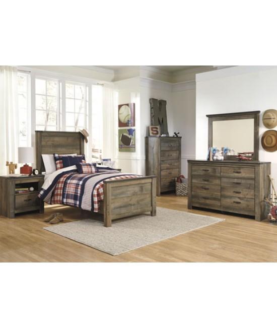 Maroa Twin Size Panel Bedroom Set