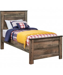 Maroa Twin Size Panel Bed