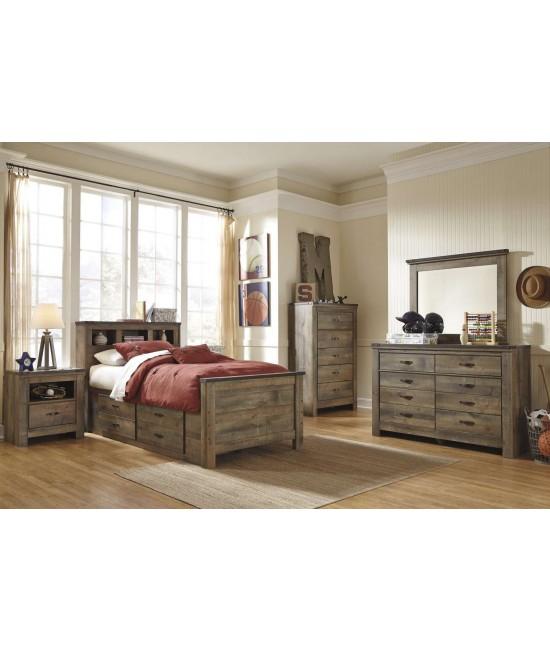 Maroa Twin Size Storage Bedroom Set