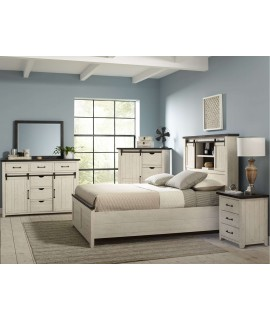 Modern Cottage 4pc. Queen Bedroom Set