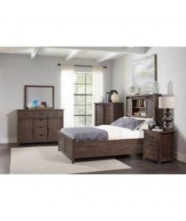 Modern Rustic Queen Bedroom Set