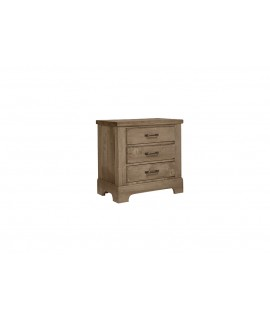 Natural Rustic Nightstand