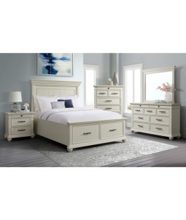 Seth White 4pc. King Bedroom Set