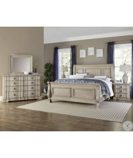 Spiced Cream King Size Bedroom Set