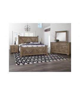 Stone Grey 4pc. Queen Bedroom Set