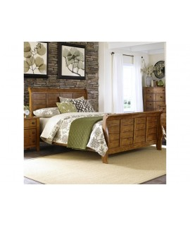 Stonewood King Sleigh Bed
