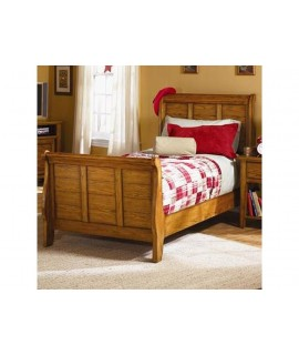 Stonewood Full Sleigh Bed