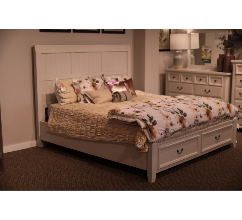 Timber Creek King Size Bed