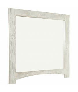 Weathered White Mirror