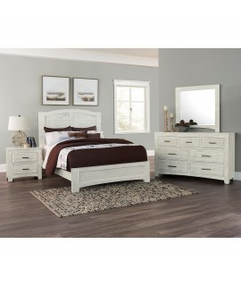 Weathered White Twin Bedroom Set