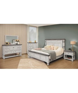 Wisteria King Size Bedroom Set