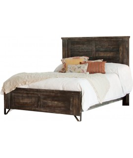 Woodlawn Meadows Queen Size Panel Bed