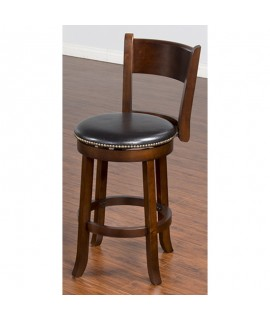 Barstow Cherry Bar Stool