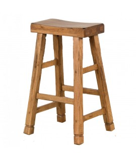 Bridle Saddle Bar Stool