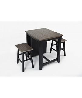 Modern Black 36 Dining Set