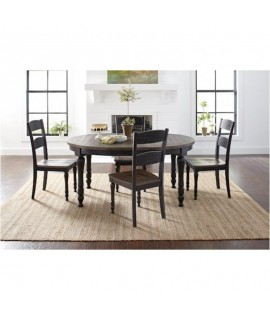 Modern Black 66 Dining Set