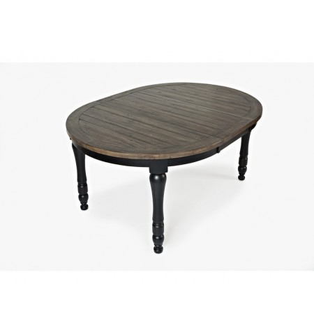 Modern Black 66 Dining Table